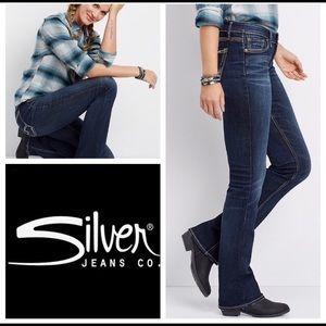 Silver Jeans Suki Slim 27x31 EUC